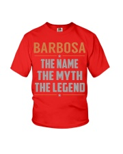 BARBOSA - Myth Legend Name Shirts Youth T-Shirt tile