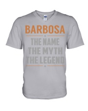 BARBOSA - Myth Legend Name Shirts V-Neck T-Shirt tile