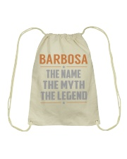 BARBOSA - Myth Legend Name Shirts Drawstring Bag tile