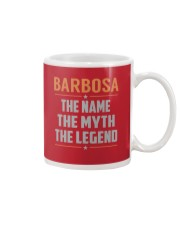 BARBOSA - Myth Legend Name Shirts Mug tile