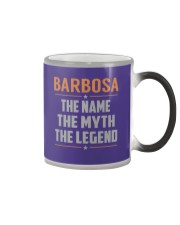 BARBOSA - Myth Legend Name Shirts Color Changing Mug tile