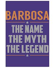BARBOSA - Myth Legend Name Shirts 11x17 Poster thumbnail