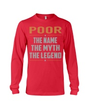 POOR - Myth Legend Name Shirts Long Sleeve Tee thumbnail