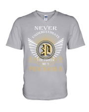 Never Underestimate PROCHASKA - Name Shirts V-Neck T-Shirt thumbnail
