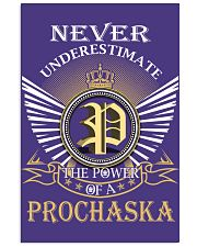 Never Underestimate PROCHASKA - Name Shirts Vertical Poster tile