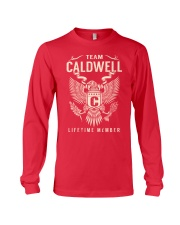 Team CALDWELL - Lifetime Member Long Sleeve Tee thumbnail