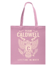Team CALDWELL - Lifetime Member Tote Bag thumbnail
