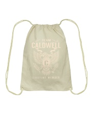 Team CALDWELL - Lifetime Member Drawstring Bag thumbnail