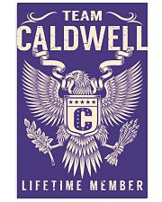 Team CALDWELL - Lifetime Member Vertical Poster tile