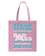 Steam Fitter - Badass Job Title Tote Bag thumbnail
