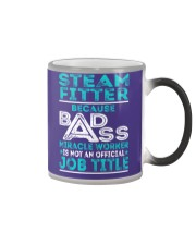 Steam Fitter - Badass Job Title Color Changing Mug thumbnail