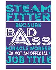 Steam Fitter - Badass Job Title 11x17 Poster thumbnail