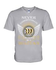 Never Underestimate WOJTAS - Name Shirts V-Neck T-Shirt thumbnail