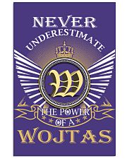 Never Underestimate WOJTAS - Name Shirts 11x17 Poster thumbnail
