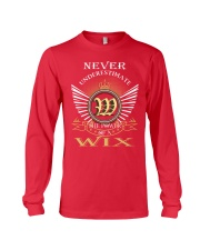 Never Underestimate WIX - Name Shirts Long Sleeve Tee tile