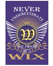 Never Underestimate WIX - Name Shirts 11x17 Poster thumbnail