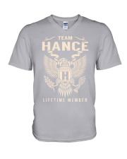 Team HANCE - Lifetime Member V-Neck T-Shirt thumbnail