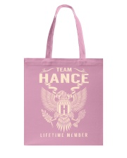 Team HANCE - Lifetime Member Tote Bag thumbnail