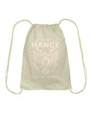 Team HANCE - Lifetime Member Drawstring Bag thumbnail