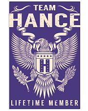 Team HANCE - Lifetime Member 11x17 Poster thumbnail