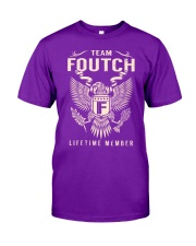 Team FOUTCH - Lifetime Member Classic T-Shirt thumbnail