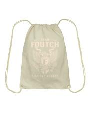 Team FOUTCH - Lifetime Member Drawstring Bag thumbnail