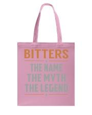 BITTERS - Myth Legend Name Shirts Tote Bag thumbnail