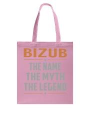 BIZUB - Myth Legend Name Shirts Tote Bag thumbnail