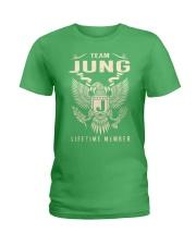 Team JUNG - Lifetime Member Ladies T-Shirt thumbnail