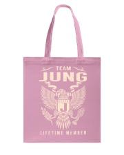 Team JUNG - Lifetime Member Tote Bag thumbnail