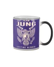 Team JUNG - Lifetime Member Color Changing Mug thumbnail