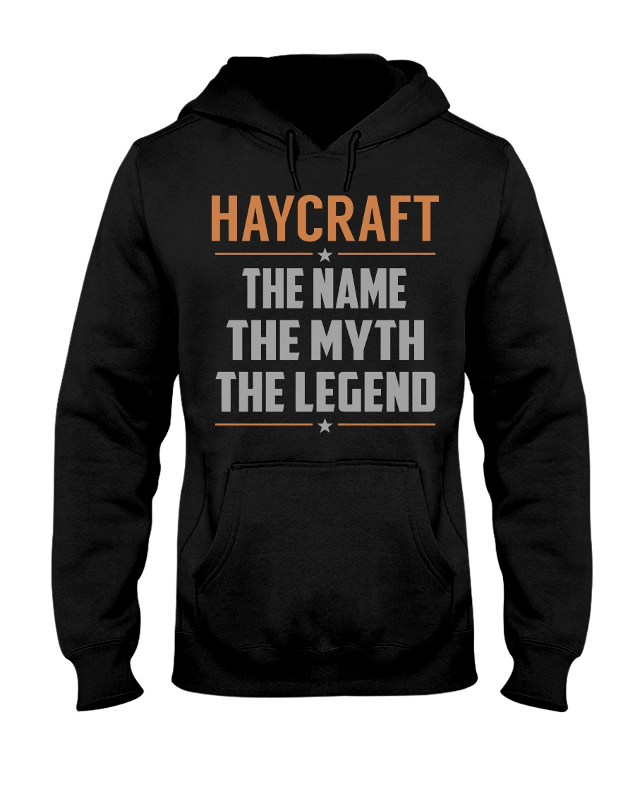 HAYCRAFT - Myth Legend Name Shirts Hooded Sweatshirt