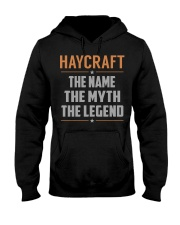HAYCRAFT - Myth Legend Name Shirts Hooded Sweatshirt front