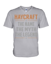 HAYCRAFT - Myth Legend Name Shirts V-Neck T-Shirt thumbnail