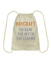 HAYCRAFT - Myth Legend Name Shirts Drawstring Bag thumbnail