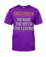 KRISTENSEN - Myth Legend Name Shirts Classic T-Shirt thumbnail