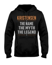 KRISTENSEN - Myth Legend Name Shirts Hooded Sweatshirt front