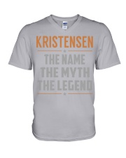 KRISTENSEN - Myth Legend Name Shirts V-Neck T-Shirt thumbnail