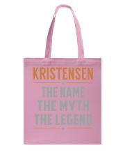 KRISTENSEN - Myth Legend Name Shirts Tote Bag thumbnail