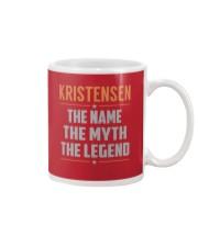 KRISTENSEN - Myth Legend Name Shirts Mug thumbnail