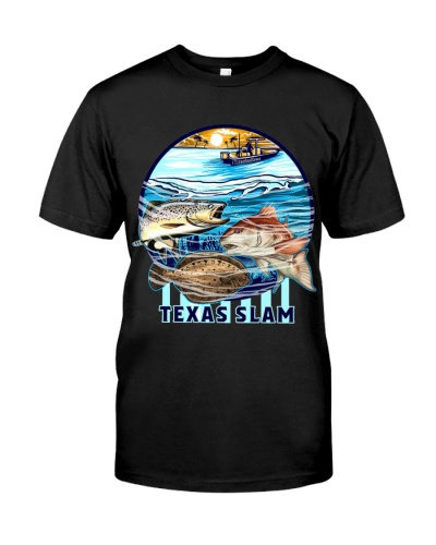 Texas slam fish shirt