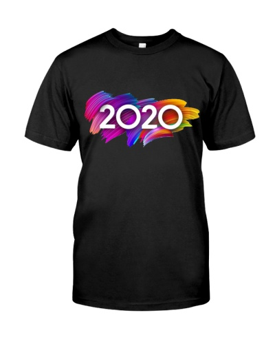 Vintage 2020 New Year Shirt
