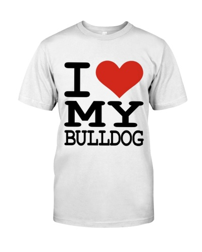 I Love my Bulldog