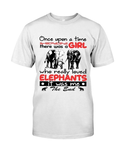 onece upon a time gril elephants the end shirt