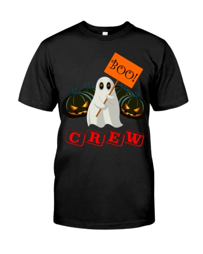 halloween pumpkin boo boo crew shirt