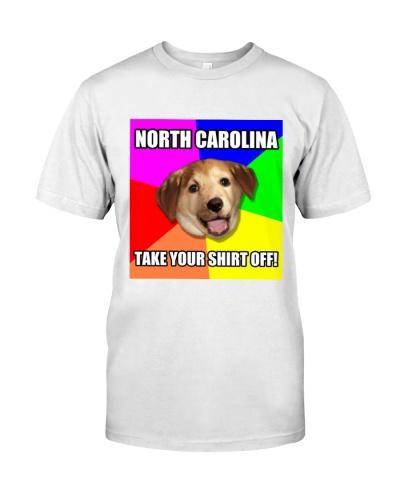 North Carolina Take Your Shirt Off