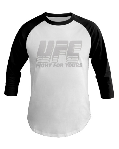 White UFC Jon Jones Black Lion T-Shirt