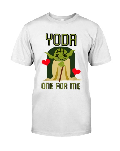Yoda One For Me Cute Valentine's Shirts