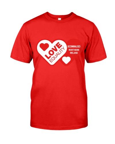 i love equality decriminalised shirt