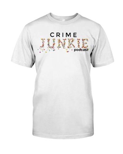 crime junkie podcast merch shirt